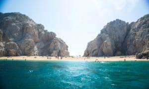 Lovers beach in Cabo!